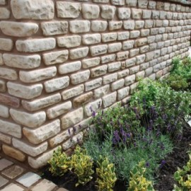 210×100 Mint Cottage Walling