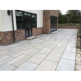 1000×750 King Size, 23 m2 Santa Fee Smooth Sawn Sandstone Paving
