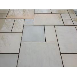 1000×750 King Size, 23 m2 Santa Fee Smooth Sawn Sandstone Paving