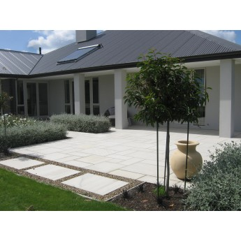 600 msp m2 ivory 22 mm sawn calibrated sandstone for Pavers christchurch