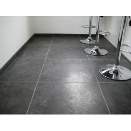 600 MSP, 19.50 m2 Smooth Midnight Black 22mm Calibrated Limestone Paving Slabs
