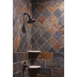 600×300 mm, 31.77 m2 Jak Multi Color Slate Tiles