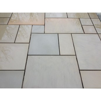 600×900, 24.45 m2 Santa Fee Smooth Sawn Sandstone Paving Slabs