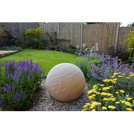 Rainbow Natural Stone Sphere / Ball 600mm Diameter