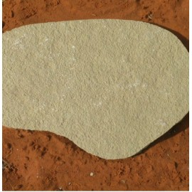 Yellow Limestone Stepping Stone