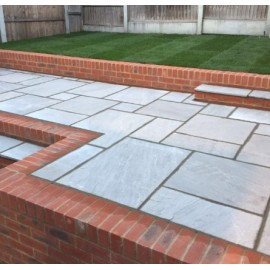 600×900, 20 m2 Light Grey 22 mm Calibrated Sandstone Paving Slab