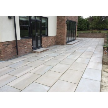 600×400, 22 m2 Santa Fee Smooth Sawn Sandstone Paving