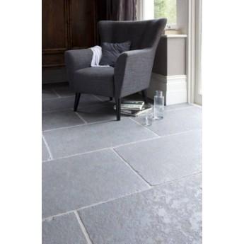 600x900mm Single Size, 20m2 Ash Grey Half Honed Limestone Paving Slab
